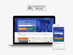 London Met Police | Responsive Website