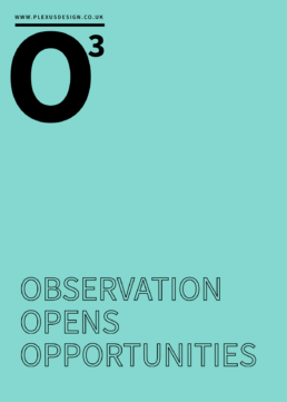 Observation Opens Opportunities - Free UX Poster - Return on Investment ROI