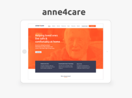 Anne4Care | Healthcare App + Responsive Website